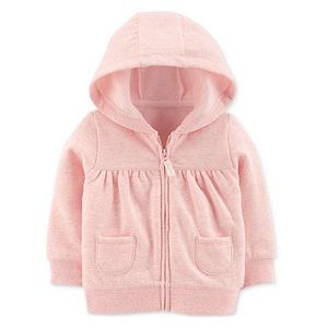 3/$25 Carter's Pink Hooded Jacket